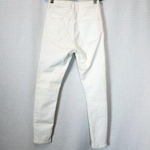 Topshop Jeans - Topshop | Moto Jamie White High Rise Jean 28